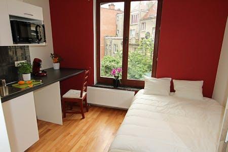 Wohnung zur Miete ab 21 Juni 2020 (Rue Saint-Josse, Saint-Josse-ten-Noode)