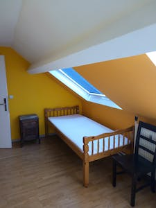 Room for rent from 01 Sep 2018  (Rue de la Constitution, Schaerbeek)