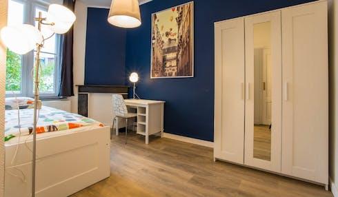 Stanza privata in affitto a partire dal 01 Oct 2020 (Rue des Compagnons, Schaerbeek)