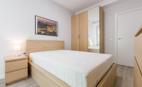 Room for rent from 01 Sep 2018  (Calle del General Varela, Madrid)