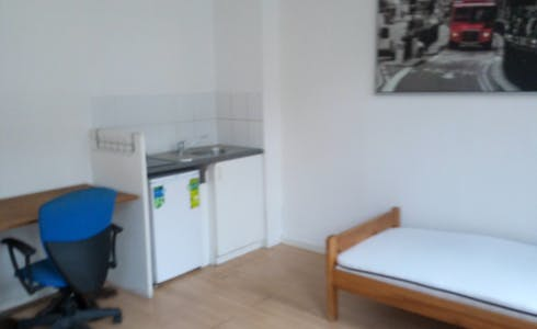 Room for rent from 01 Aug 2018 (Rue de la Constitution, Schaerbeek)