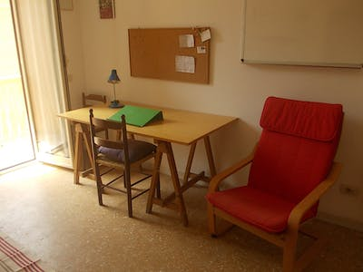 Private room for rent from 01 Sep 2019 (Viale Guglielmo Marconi, Roma)