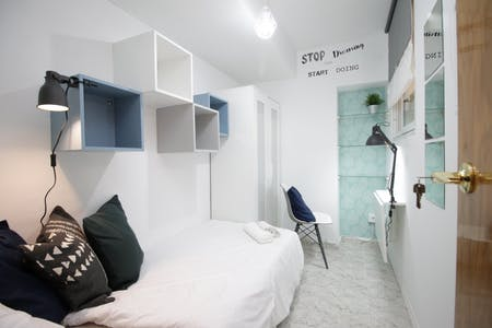 Private room for rent from 01 Jun 2019 (Carrer de Wellington, Barcelona)