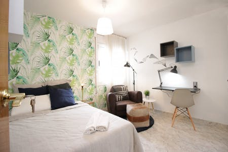Room for rent from 15 Jan 2019 (Carrer de Wellington, Barcelona)