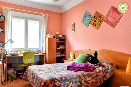 Room for rent from 01 Jul 2019 (Calle Martín Cortés, Zaragoza)
