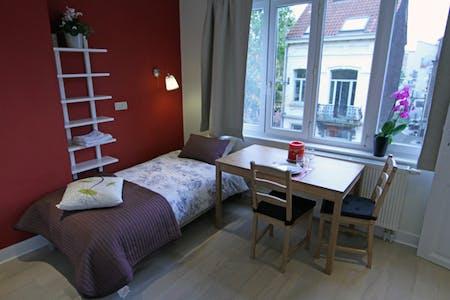 单间公寓租从19 12月 2017 直到31 1月 2018 (Rue Verbist, Saint-Josse-ten-Noode)