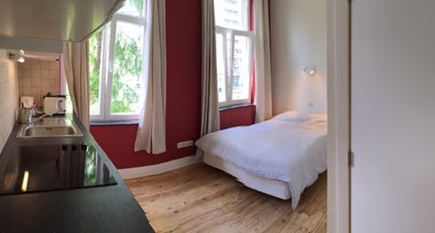 Studio te huur vanaf 21 jan. 2018  (Avenue de la Brabançonne, Brussels)