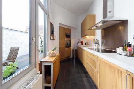 Room for rent from 01 Oct 2018  (Rue de la Seconde Reine, Uccle)