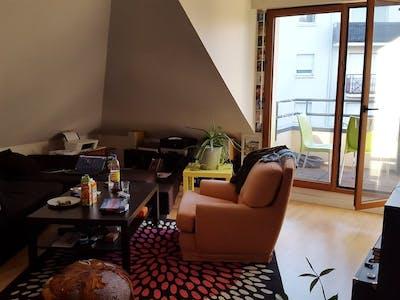 WG-Zimmer zur Miete ab 10 Apr. 2020 (Quai Henri Barbusse, Nantes)