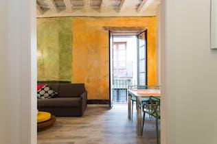 Apartamento de alquiler desde 01 mar. 2019 (Carrer de Sant Domènec del Call, Barcelona)