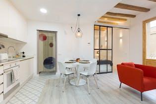 Apartamento de alquiler desde 01 jun. 2019 (Carrer del Poeta Cabanyes, Barcelona)