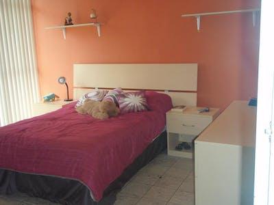 Privé kamer te huur vanaf 16 Oct 2019 (Benjamín Romero, Guadalajara)
