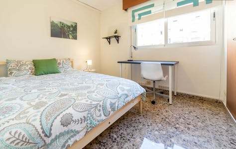 Room for rent from 21 Aug 2018 (Carrer de la Ciutat de Mula, Valencia)