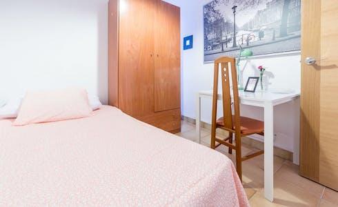 Room for rent from 01 Feb 2018  (Carrer d'Eduard Boscà, Valencia)