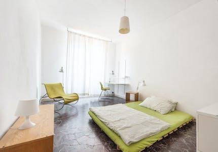 单人间租从01 4月 2019 (Via Folco Portinari, Florence)
