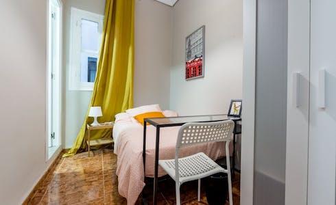 Room for rent from 31 Jan 2018  (Calle Marqués de Zenete, Valencia)