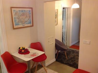Private room for rent from 01 Sep 2019 (Þórsgata, Reykjavík)