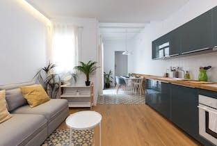 Apartamento de alquiler desde 02 oct. 2019 (Carrer de l'Hospital, Barcelona)
