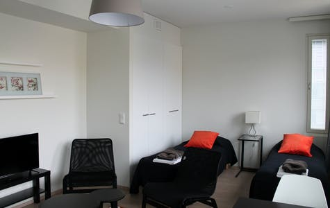 Private room for rent from 21 Jan 2019 (Hansagatan, Turku)