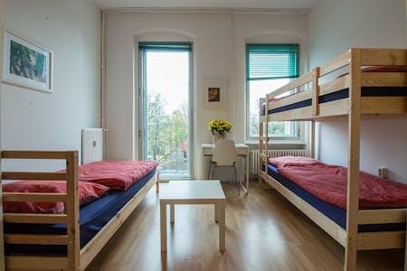 Shared room for rent from 21 Jul 2019 (Hermannstraße, Berlin)