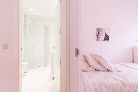 Appartement te huur vanaf 15 aug. 2019 (Avenida de Brasil, Madrid)
