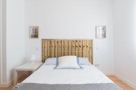Apartment for rent from 23 Apr 2019 (Avenida de Brasil, Madrid)
