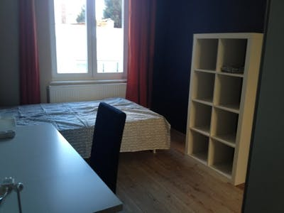Room for rent from 01 Dec 2018 (Rue Gustave Fuss, Schaerbeek)