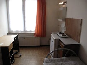 Private room for rent from 01 May 2019 (Avenue de la Couronne, Ixelles)