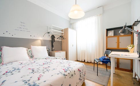 Stanza in affitto a partire dal 01 lug 2018 (Recalde Zumarkalea, Bilbao)