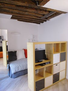 Apartment for rent from 06 Aug 2018 (Rue des Ecouffes, Paris)