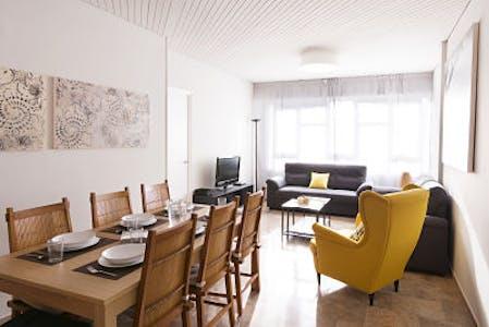 Apartment for rent from 29 Apr 2018 (Gran Via de les Corts Catalanes, Barcelona)