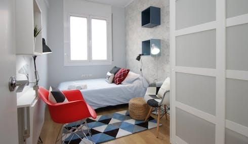 Privé kamer te huur vanaf 01 Jan 2020 (Avinguda de la Riera de Cassoles, Barcelona)