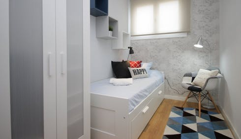 Private room for rent from 19 Apr 2019 (Avinguda del Príncep d'Astúries, Barcelona)