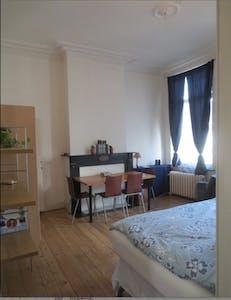 Appartement te huur vanaf 16 Mar 2020 (Rue d'Ecosse, Saint-Gilles)