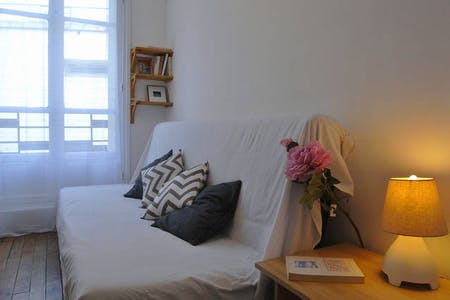 Apartment for rent from 12 Aug 2019 (Rue de Dunkerque, Paris)