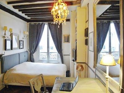 Apartamento para alugar desde 01 Apr 2020 (Rue Budé, Paris)