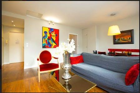 Apartamento para alugar desde 20 ago 2018 (Rue de la Michodière, Paris)