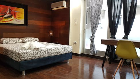 Private room for rent from 10 Sep 2019 (Agiou Meletiou, Athens)