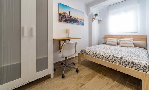 Private room for rent from 01 Feb 2020 (Carrer del Doctor Manuel Candela, Valencia)