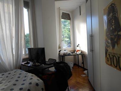 Room for rent from 01 Aug 2018 (Corso San Maurizio, Torino)