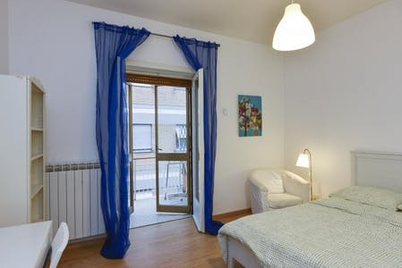 Private room for rent from 17 Jun 2019 (Via Angelo Mosso, Roma)