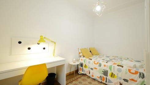 Private room for rent from 01 Jul 2019 (Carrer de Santa Anna, Barcelona)