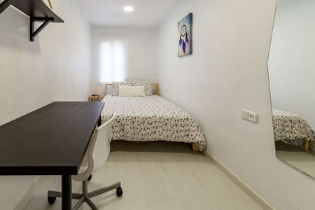 Private room for rent from 01 Feb 2020 (Carrer de Mirambell, Valencia)