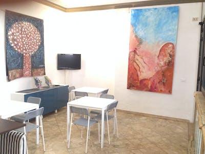 Habitación de alquiler desde 21 ago. 2018 (Via del Porrione, Siena)