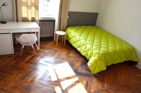 Private room for rent from 01 Jun 2019 (Paseo Marqués de Monistrol, Madrid)