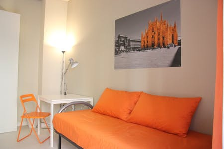 Room for rent from 01 Jan 2019 (Via dei Biancospini, Milano)