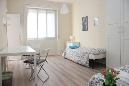 Zimmer zur Miete von 31 Jan 2019 (Via Vespri Siciliani, Milano)