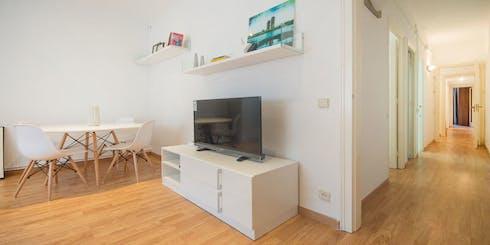 Wohnung zur Miete von 01 Juli 2019 (Carrer de Berna, Barcelona)