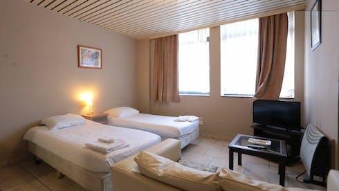 Appartement te huur vanaf 18 Aug 2019 (Rue Jolly, Schaerbeek)