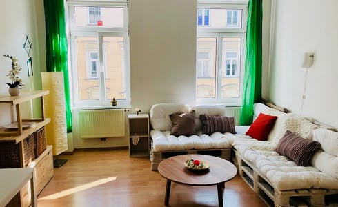 Apartamento para alugar desde 17 mar 2018 (Wällischgasse, Vienna)